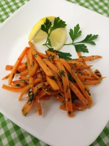 sweet potato gremolata