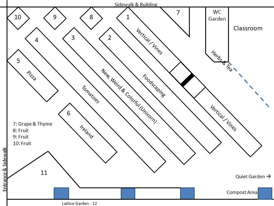 2020 Garden Maps